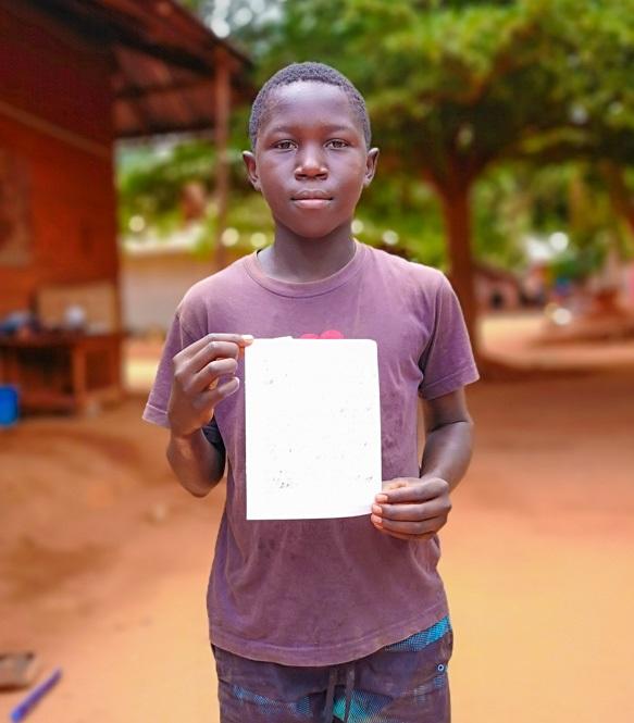 Apadrinhar os estudos de Aluno da Guiné-Bissau